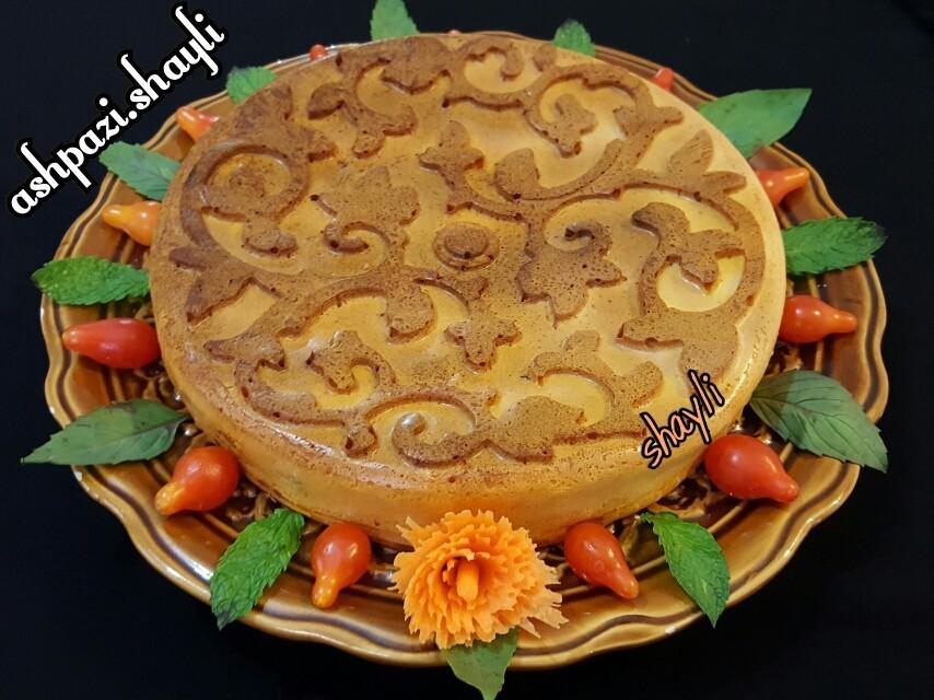 عکس کیک گوشت
