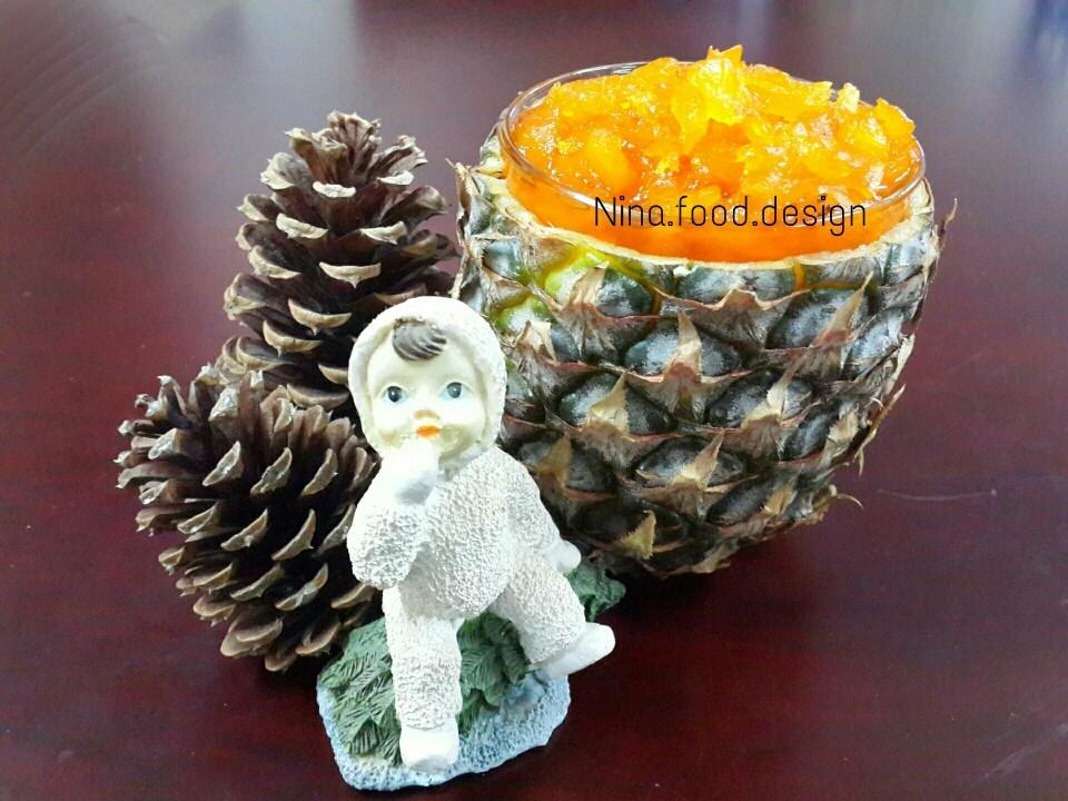 عکس مربای آناناس