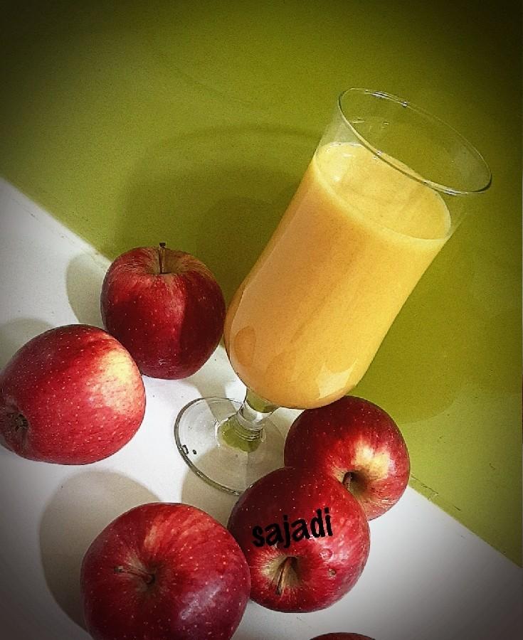 عکس شربت سیب