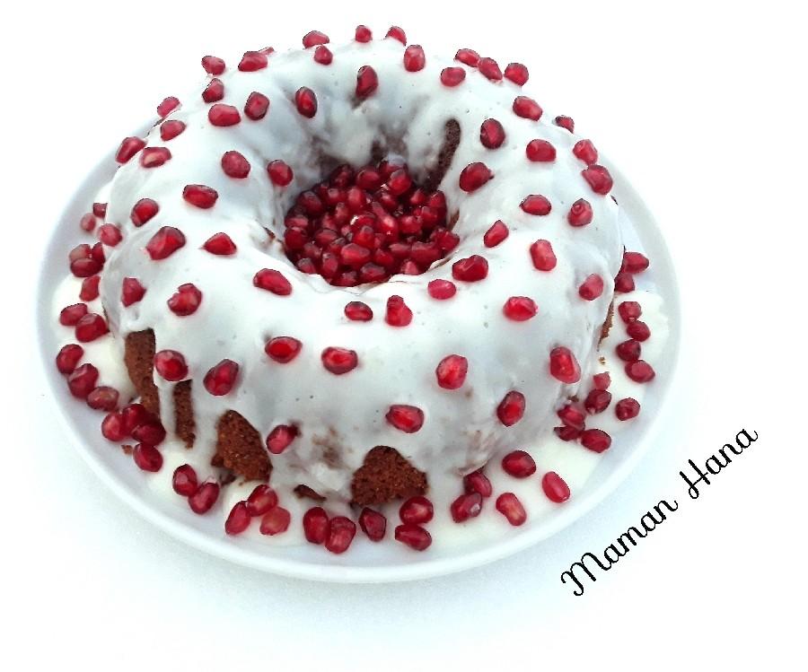 عکس کیک انار ویژه یلدا