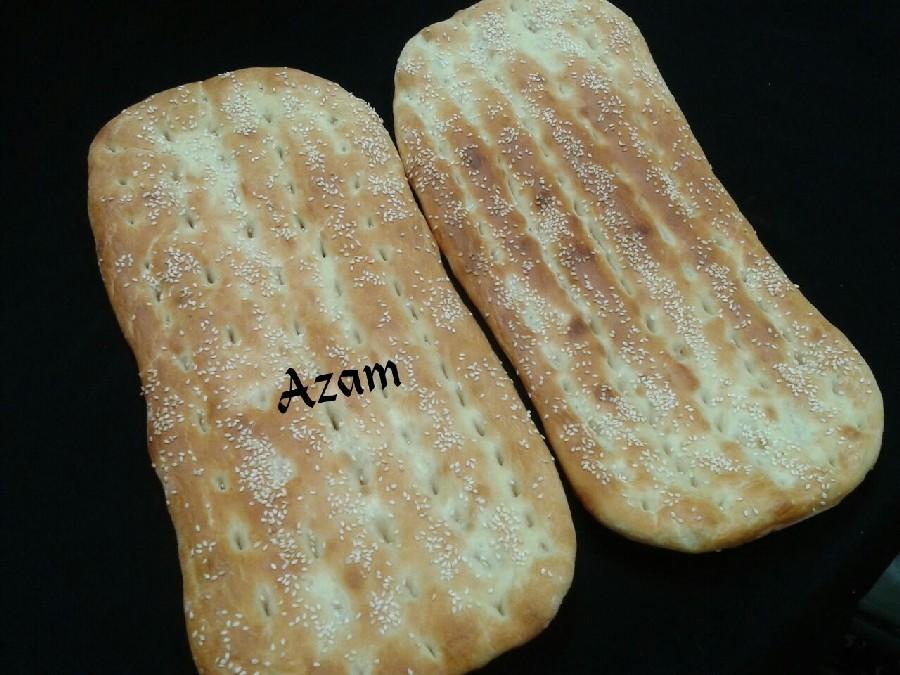 عکس نان بربرى خانگی