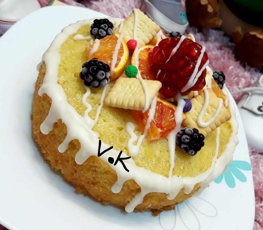 عکس مینی کیک ساده