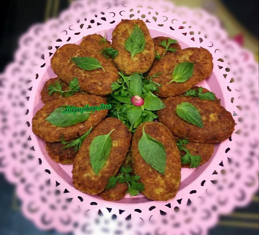 عکس شامی گوشت و حبوبات