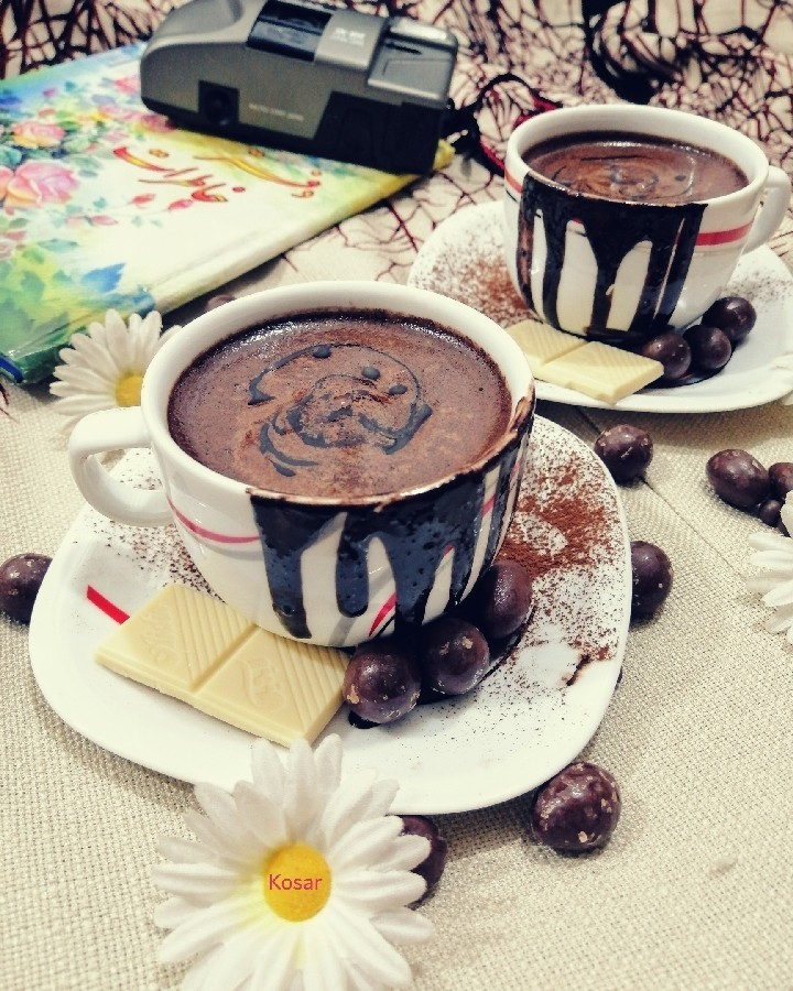 عکس شکلات داغ