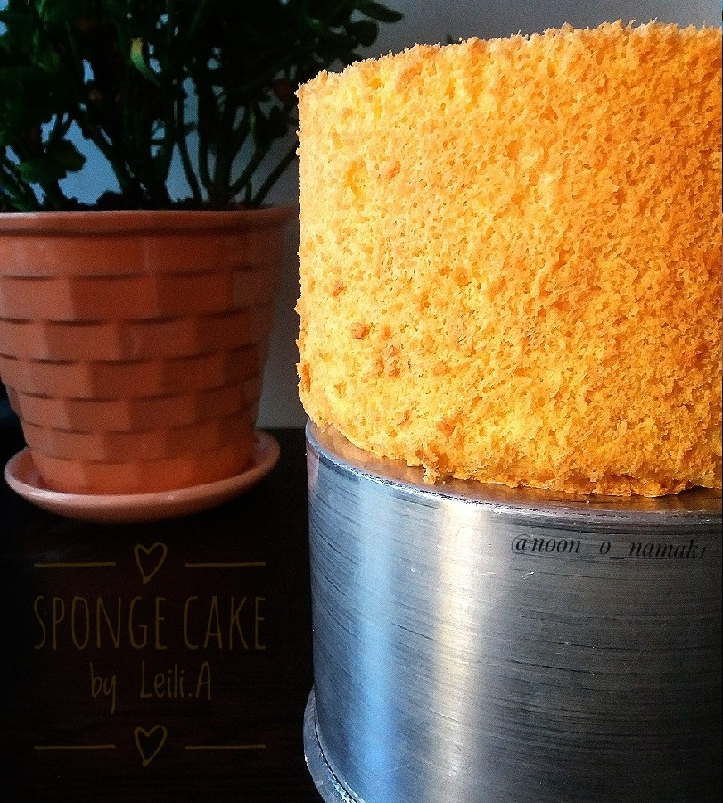 عکس کیک اسفنجی تولد با تمام نکات