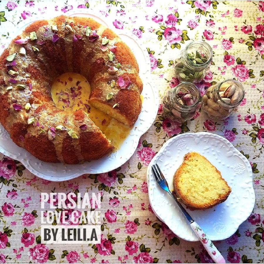 عکس کیک عشق ایرانی