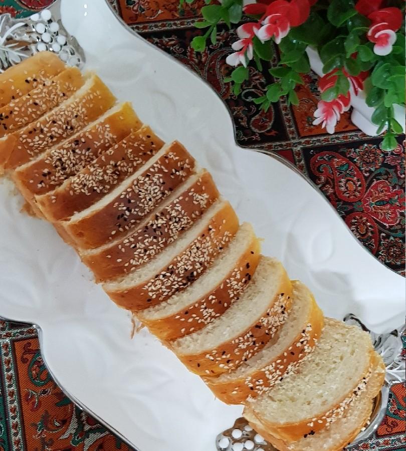 عکس نان تست کره ای (با تخم مرغ)