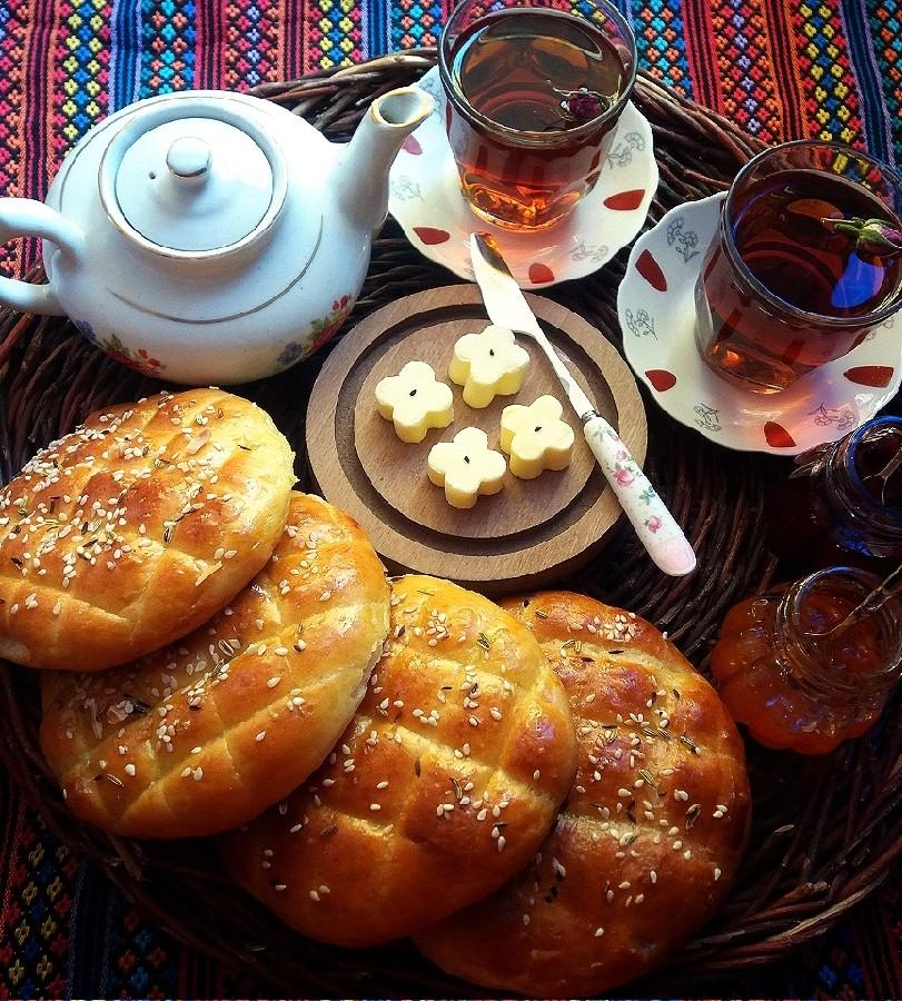 عکس نان شیر