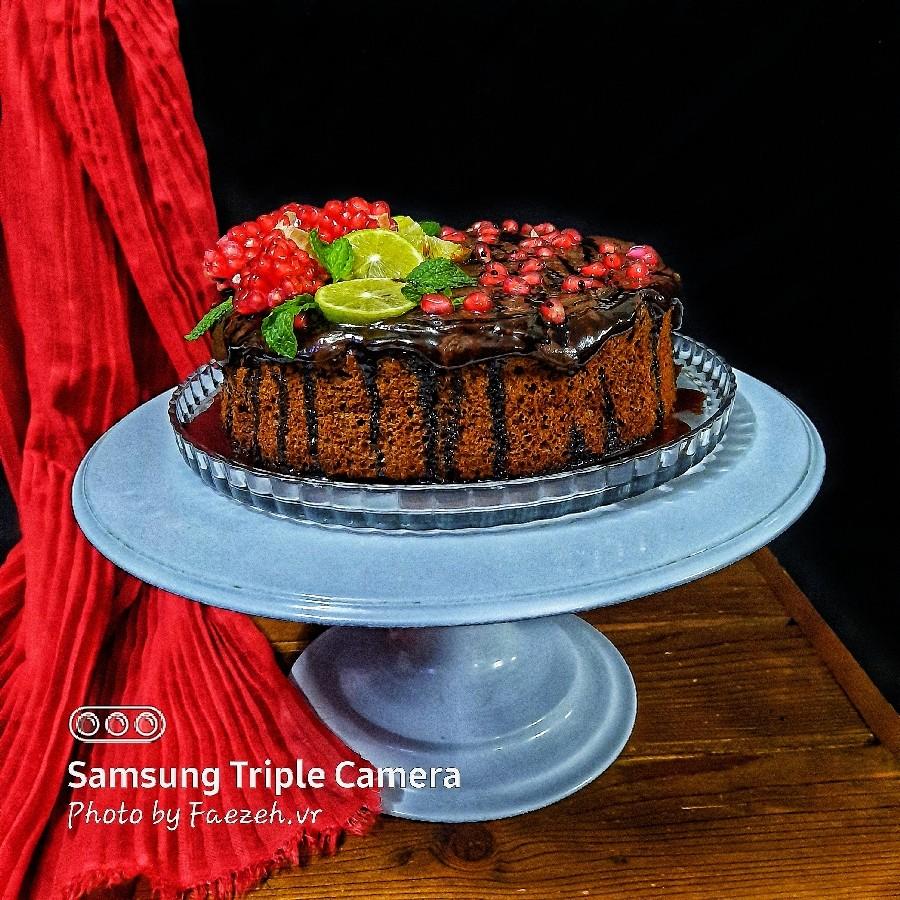 عکس کیک رژیمی آب هویج بدون �ر و همزن