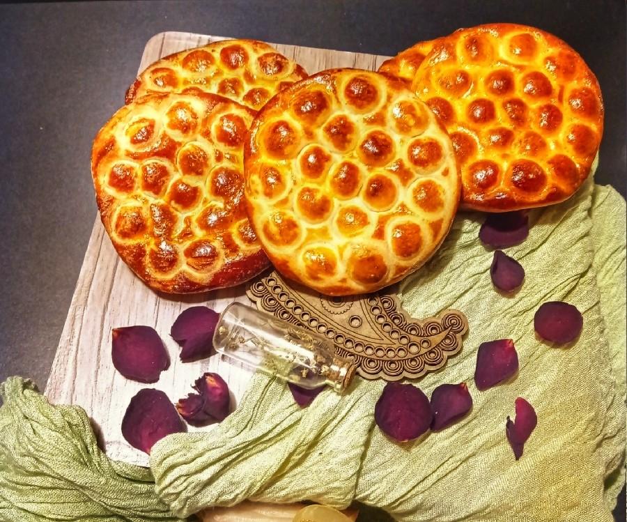 عکس نان زنجبیل عسلی