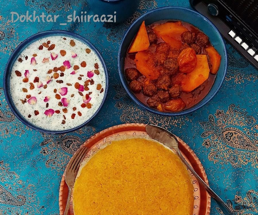 عکس تاس کباب شیرازی