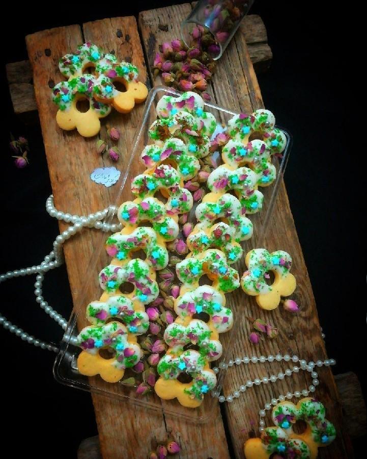 عکس شیرینی رینگ آجیلی بدون فر