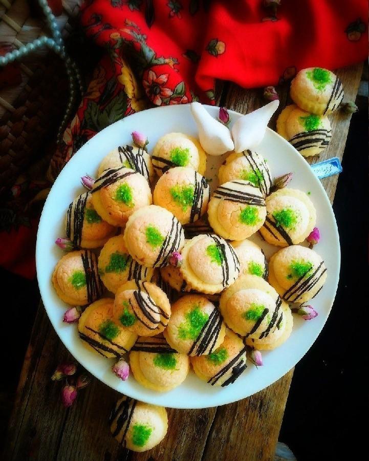 عکس شیرینی تارت نارگیلی