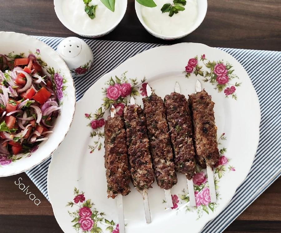 عکس کباب لبنانی(کفته )