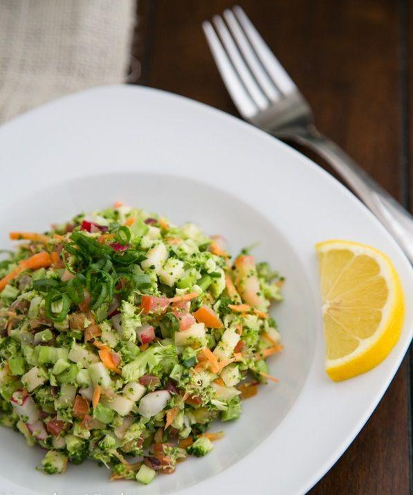 عکس سالاد سبزیجات
