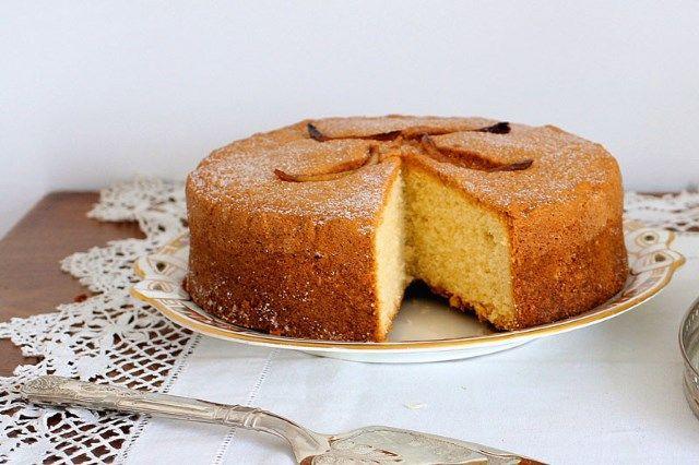 عکس کیک اسفنجی رژیمی