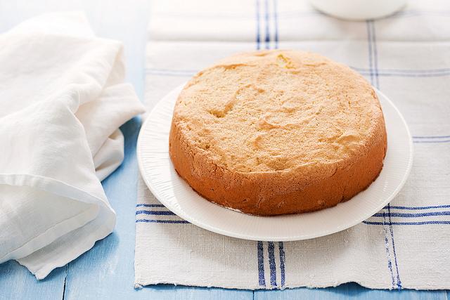 عکس کیک پان اسپانیا با آرد برنج