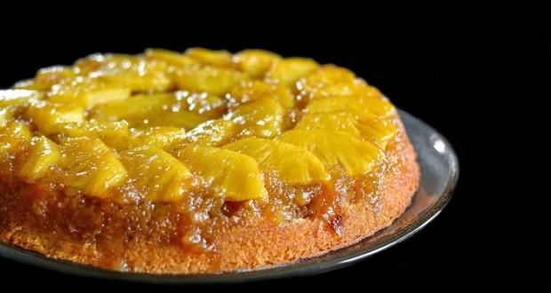 عکس کیک آناناس