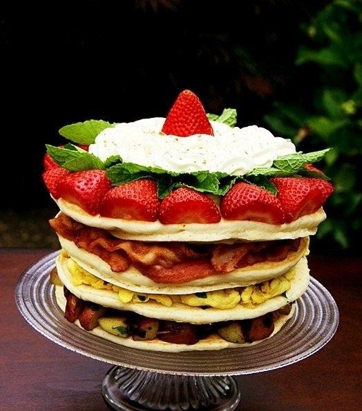 عکس پنکیک صبحانه
