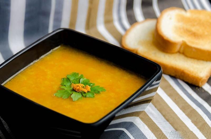 عکس سوپ پرتقال
