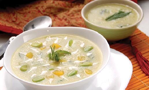 عکس سوپ باقالی