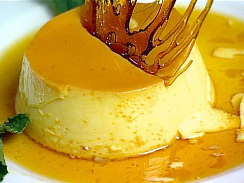 عکس کرم کارامل پرتقال