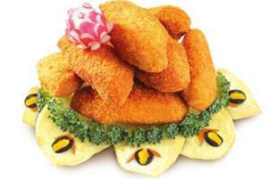 عکس بال مرغ سوخاری چینی