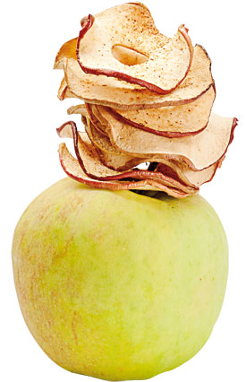 عکس چیپس سیب