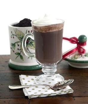 عکس شکلات گرم وانیلی