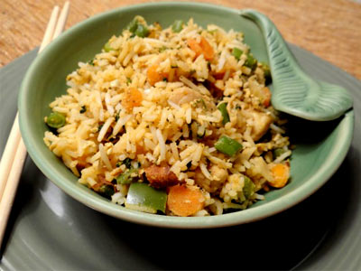 عکس برنج مخلوط با ذرت
