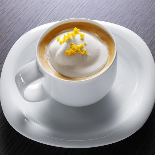 عکس قهوه پرتقالی با خامه