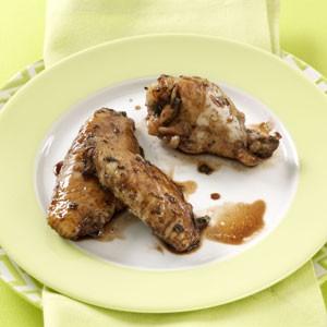 عکس بال مرغ با سس سرکه