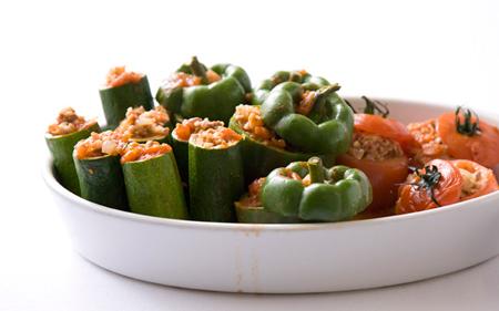 عکس دلمه سبزیجات
