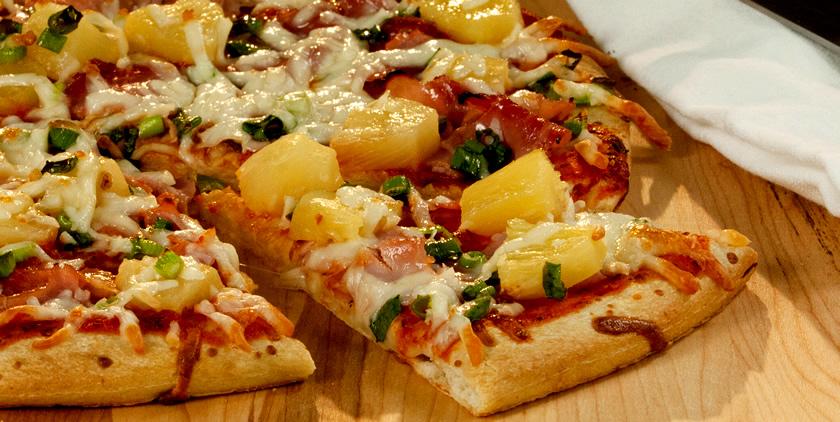 عکس پیتزای آناناس