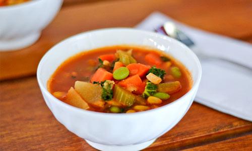 عکس سوپ گیاهی