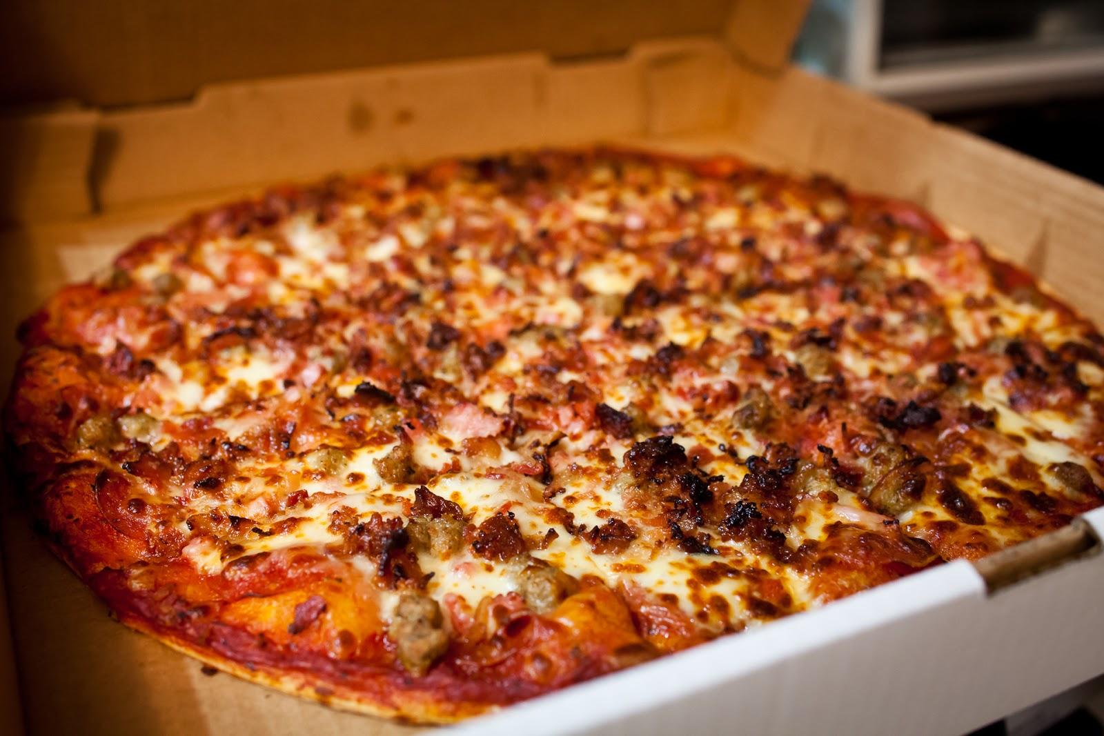 عکس پیتزا گوشت