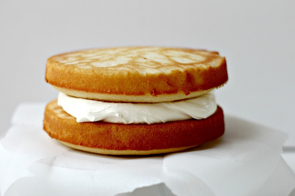 عکس کیک شیر عسلی