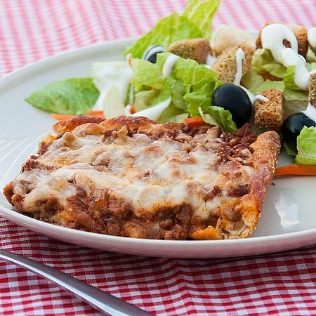 عکس پیتزا با پخت آسان