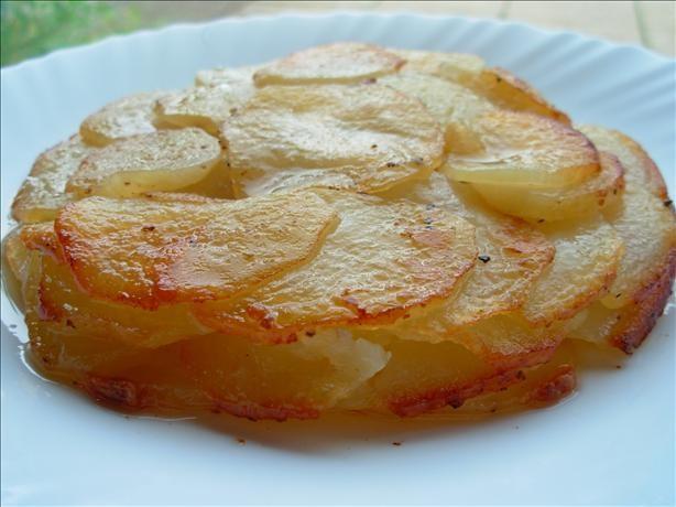 عکس ته چین سیب زمینی