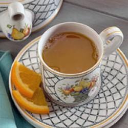 عکس چای دارچین پرتقالی