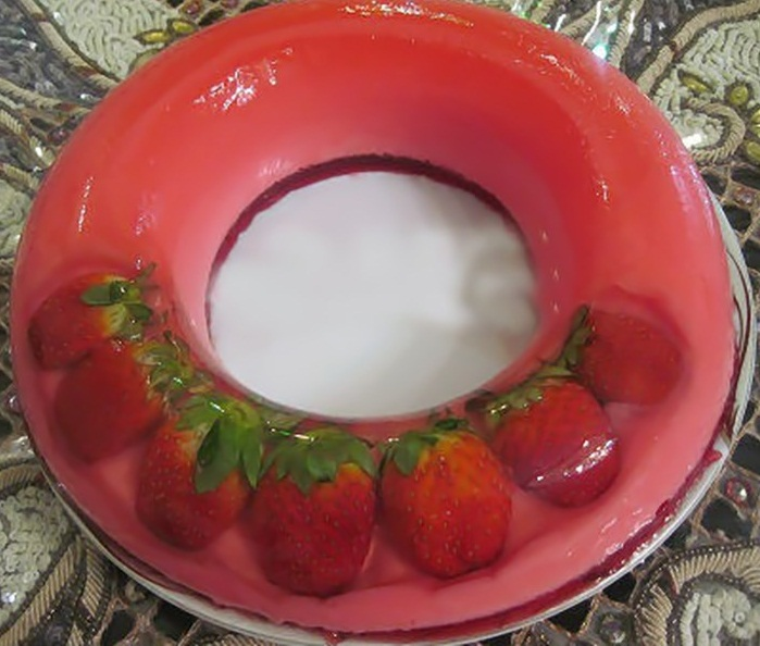 عکس ژله بستنی ویترینی