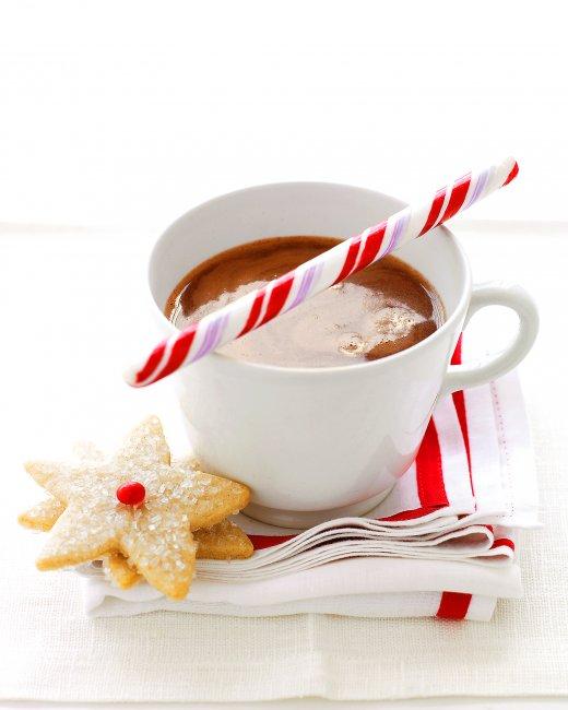 عکس شکلات داغ نعنایی